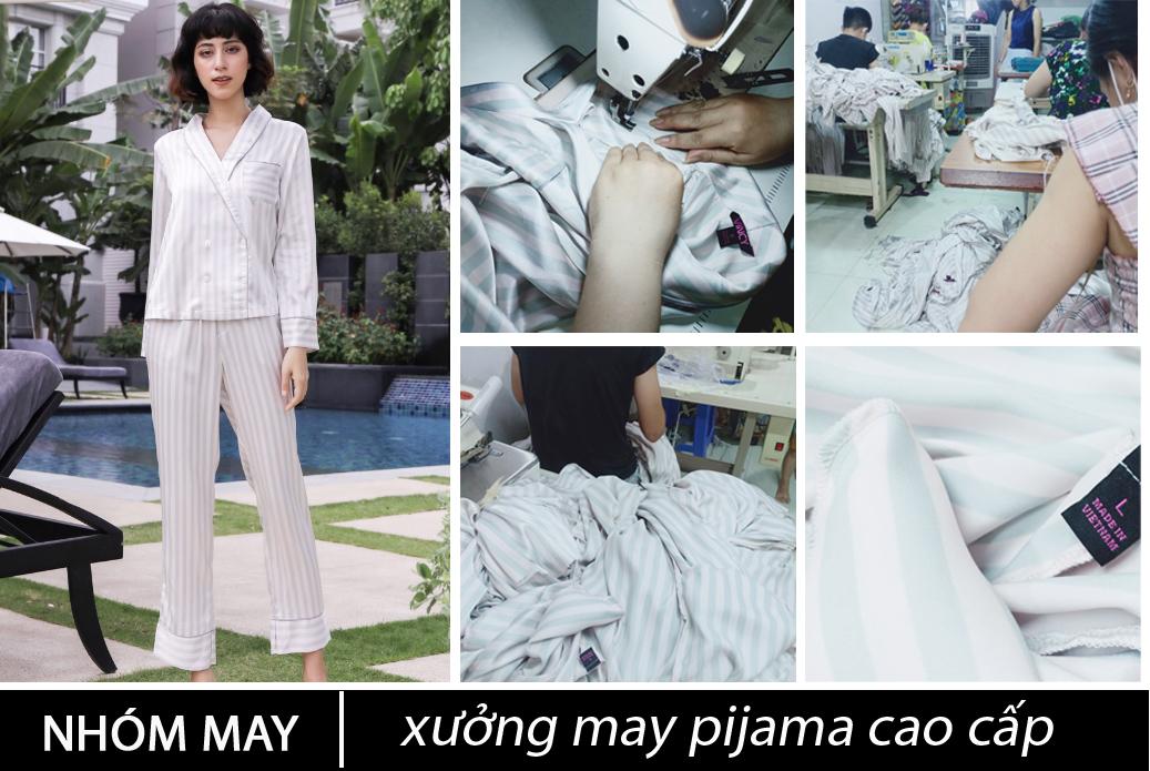 xưởng may pijama cao cấp